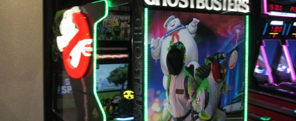 Game Review and Updates: Ghostbusters Videmption Arcade Game by Ice