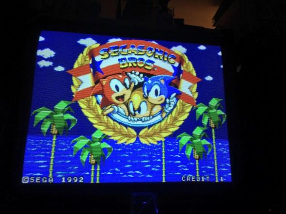 Sega Sonic Bros. prototype
