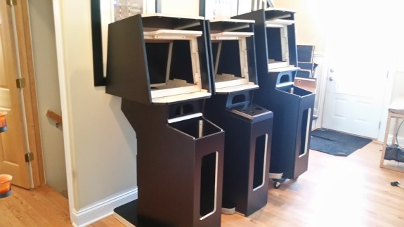 Major Havoc Reproduction Cabinets