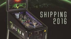 Heighway Pinball's Alien Pinball Machine Unveiled