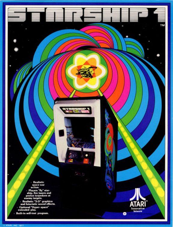 Starship 1 Atari