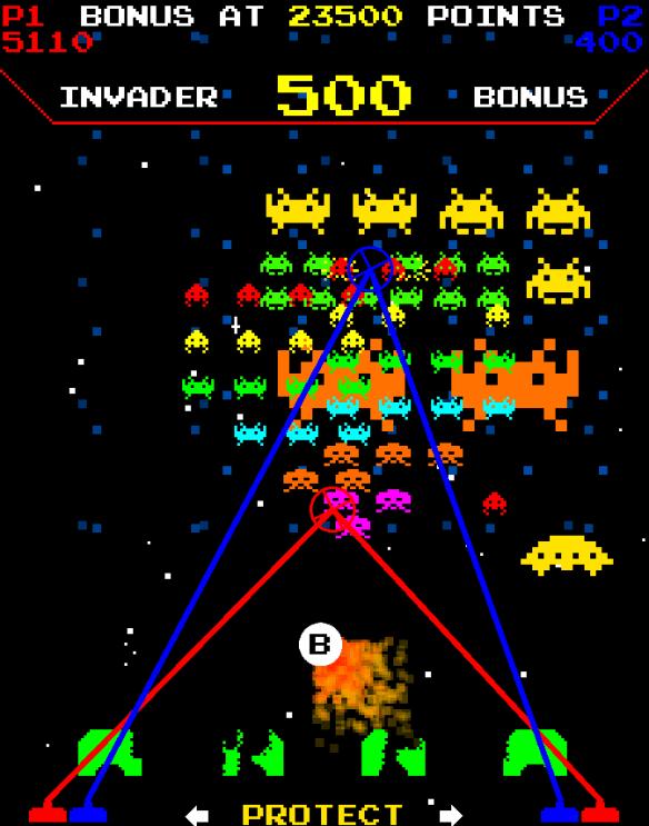 Space Invaders Frenzy screenshot