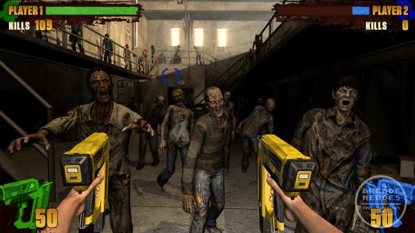 AMC's The Walking Dead Arcade Nailgun