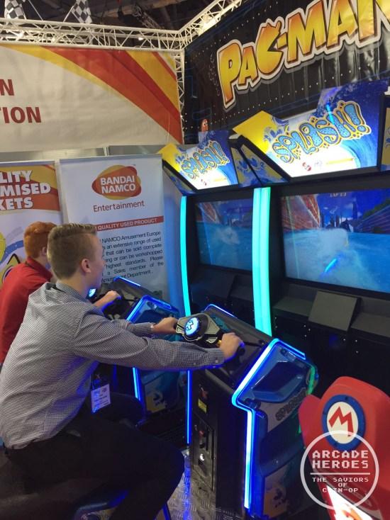 Splash Arcade by InJoy Motion, Raw Thrills and Specular Interactive