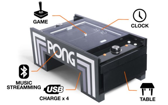 Atari Pong Coffee Table EM Game