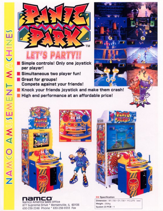 Panic Park Flyer