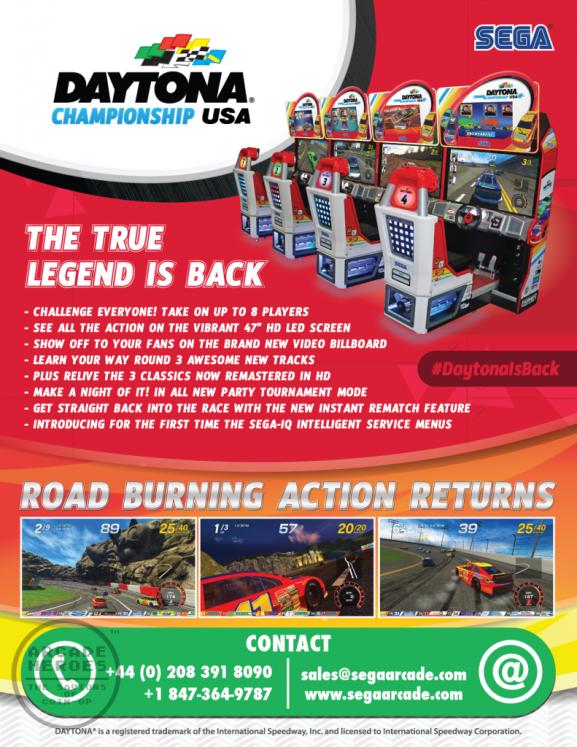 Daytona Championship USA New Flyer