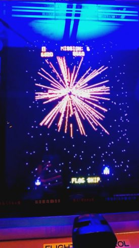 Gorf- Flag ship explosion