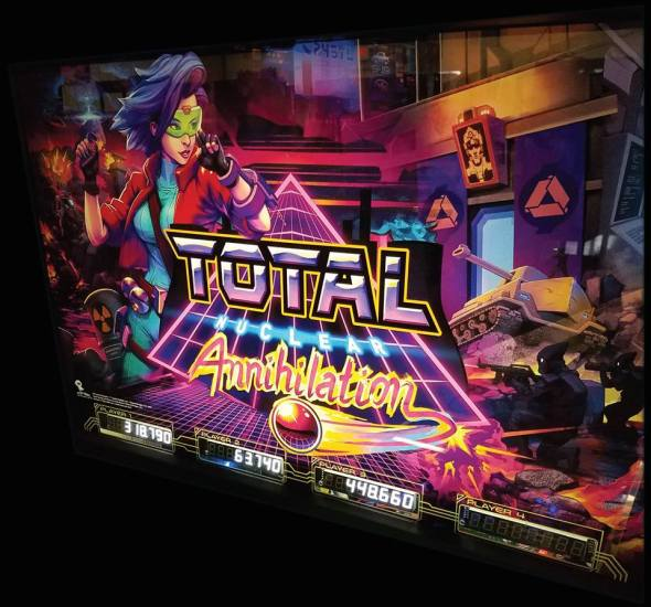 Total Nuclear Annihilation Backglass