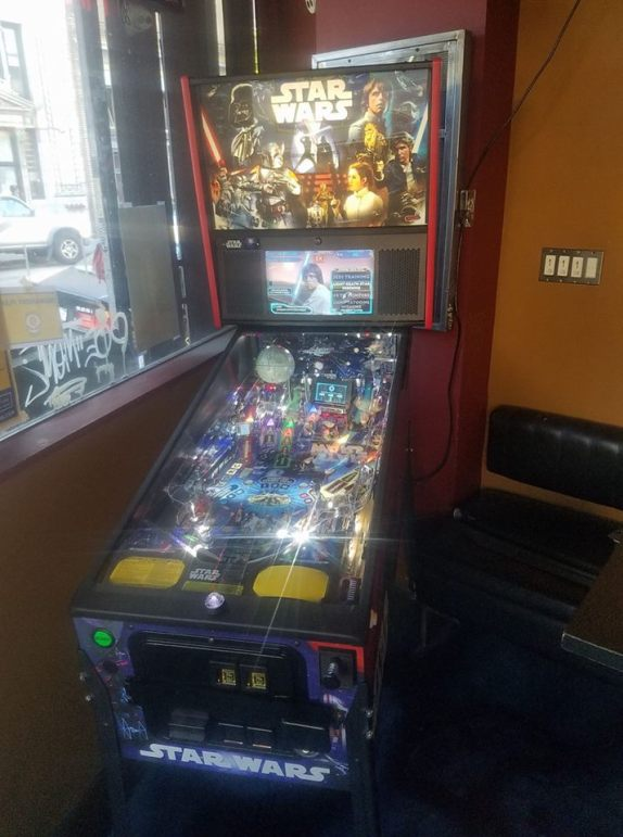 Star Wars Pinball in California