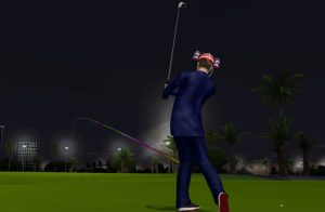 Golden Tee 2018 golfer