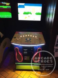 Family Guy Bowling arcade location test
