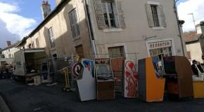 Newsbytes: French Arcade Raid; Switch Getting Nintendo Arcade Classics; WFD & Skycurser + More