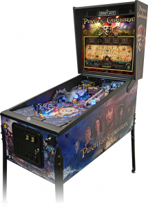 Pirates of the Caribbean Limited Edition by Jersey Jack Pinball