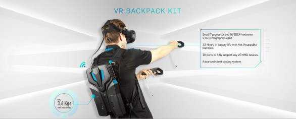 We Play VR Backpack