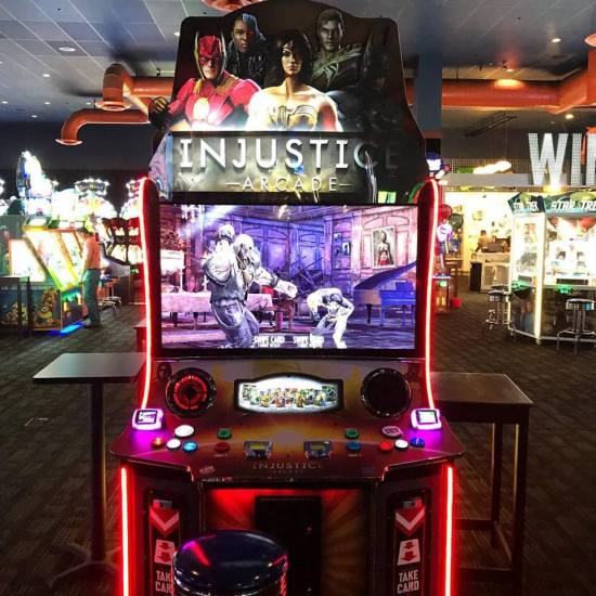 "Injustice Arcade 55"" D&B Edition by Raw Thrills"
