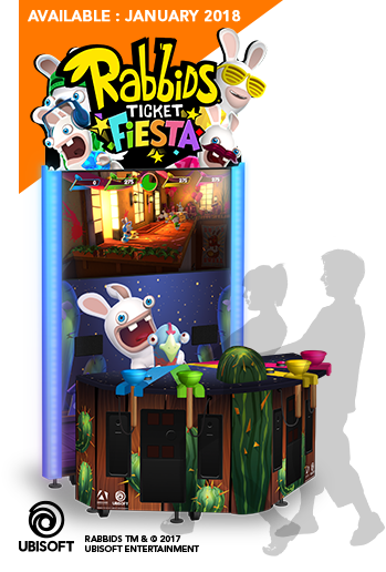 Rabbids Ticket Fiesta by Adrenaline Amusements