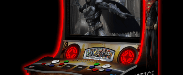 Injustice Arcade Added To The Raw Thrills Website