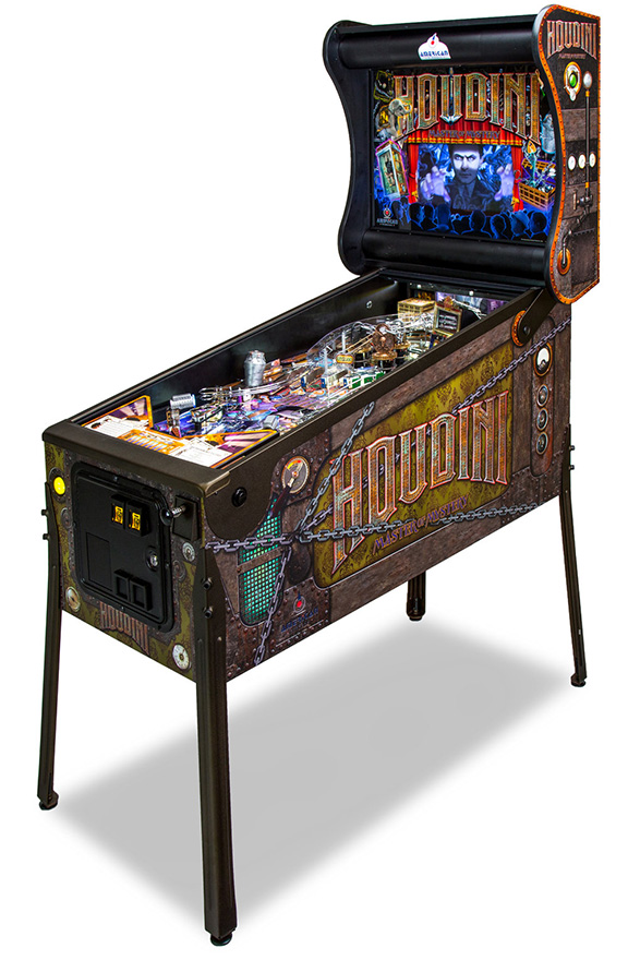 Houdini: Master Of Mystery by American Pinball