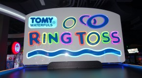 New Arcade Game from ICE – Tomy Waterfuls Ring Toss Spotted at Dave & Busters Buffalo