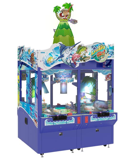Let's Go Fishing By Sega