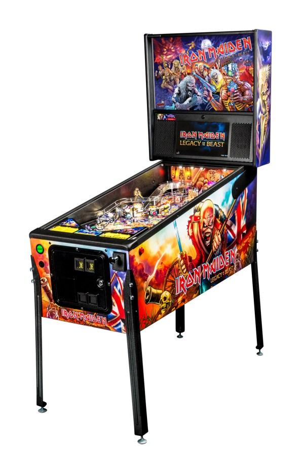 Iron Maiden Pinball, pro model by Stern Pinball