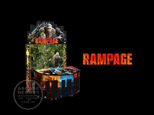Arcade Heroes Rampage Returns To Arcades As A Dave & Busters