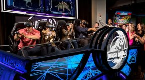 Jurassic World VR Expedition Debuts Today At 100 Dave & Busters Locations