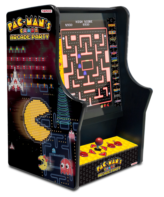 Pac-Man's Arcade Party bartop