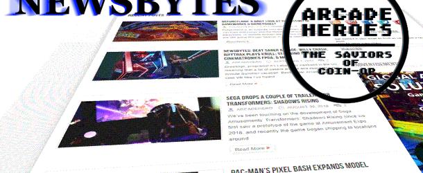 Newsbytes: A Personal Arcade Experience; Exa-Arcadia Update; Sega's Execution & More