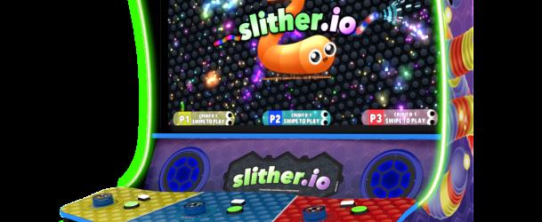 Popular App Slither.Io Makes The Jump To Arcades Via Raw Thrills