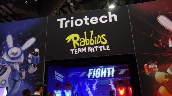 Trio Tech Rabbids Team Battle
