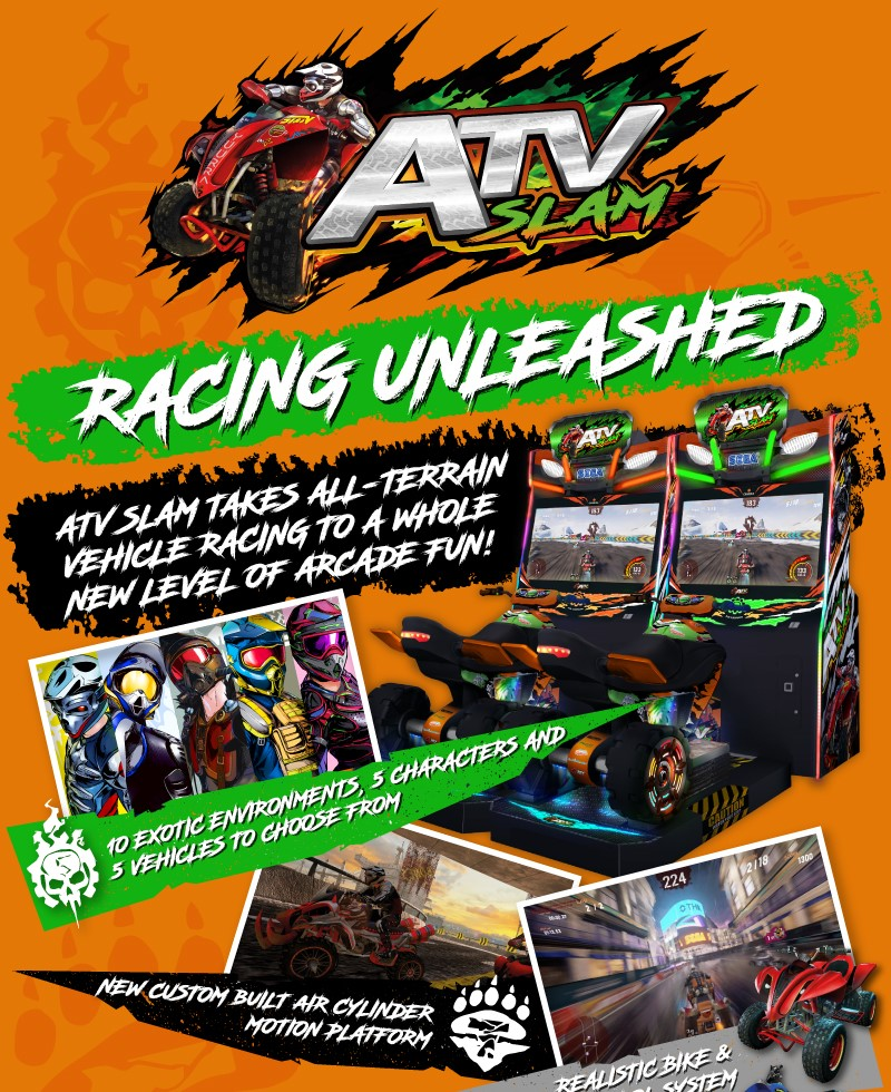 ATV Slam promo pic by Sega Amusements