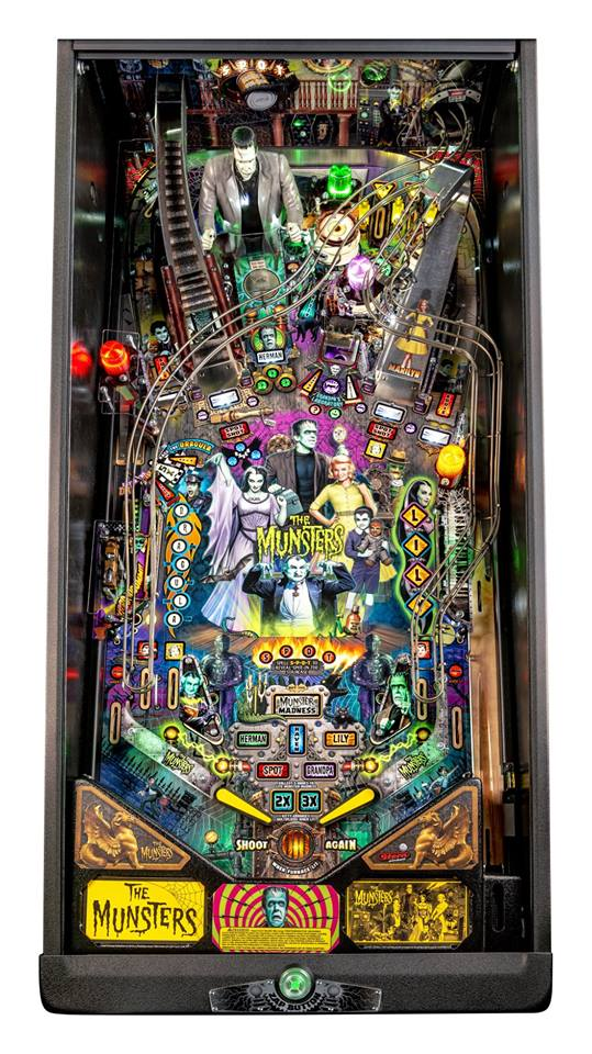 Arcade Heroes Stern Pinball Officially Unveils The Munsters