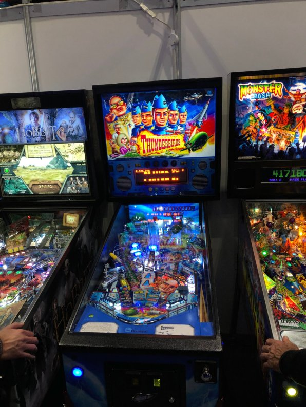 Thunderbirds pinball