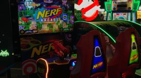 Newsbytes: Nerf Arcade Loctest; Playing Pac-Man; Darius on Switch; Louisville Arcade Expo & More