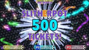 """Slither.io Arcade """"Slitherpot"""" ticket bonus"""
