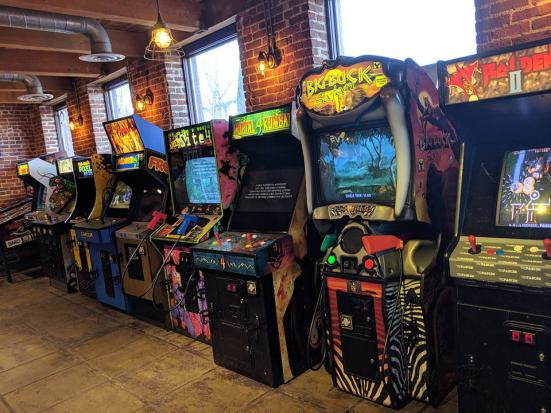 Quarters Arcade+Bar in Longmont, CO