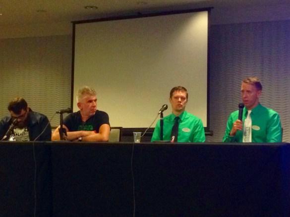 Future of Indie Arcades Panel, CAX2019