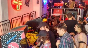 Fans Enjoy The Coca-Cola X Stranger Things UK Pop-Up Arcade For A Day