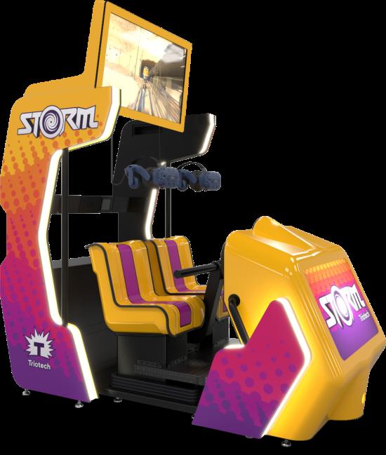 Storm VR ride simulator by Trio-Tech