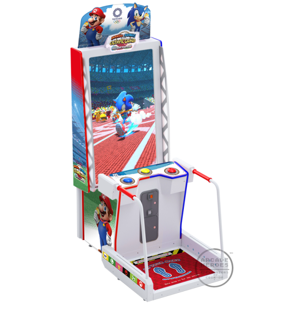 Mario & Sonic At The Olympic Games Tokyo 2020 Arcade Edition cabinet