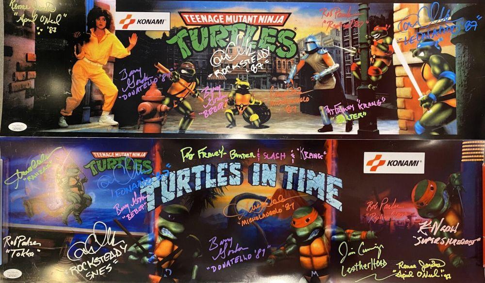 teenage mutant ninja turtles arcade marquee