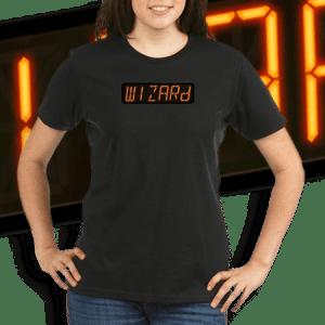 WIZARD Pinball Score Display.
