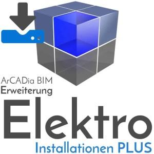 ArCADia BIM - Erweiterung Elektroinstallationen - Download
