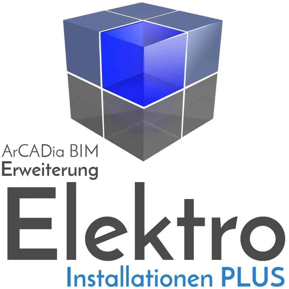ArCADia BIM - Erweiterung Elektroinstallationen PLUS