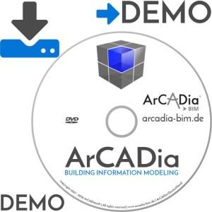 ArCADia LT - BIM Building Information Modeling - DEMO Download