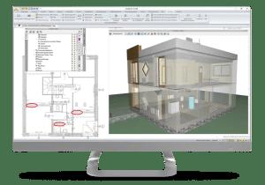 ArCADIA Software - Heizungsmodul Heizungsinstallation CAD
