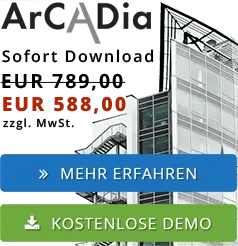 ArCADia BIM Software - CAD Planung am PC