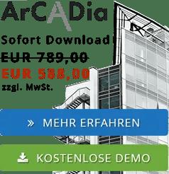 ArCADia BIM Software - CAD Planung am PC
